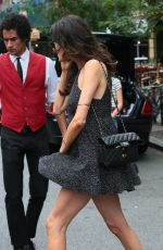 NICOLE TRUNFIO Leaves Her Hotel in New York