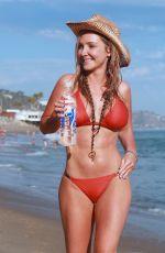 NIKKI LUND in Bikini at a Beach in Malibu