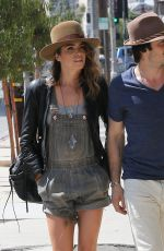 NIKKI REED and Ian Somerhalder Out And About in Los Angeles