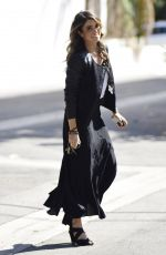 NIKKI REED Out Shopping on Beverly Boulevard in Los Angeles