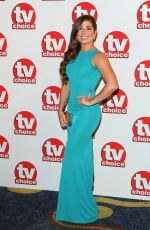 NIKKI SANDERSON at TV Choice Awards 2014 in London