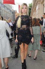 NINA NESBITT at Julien Macdonald Fashion Show in London