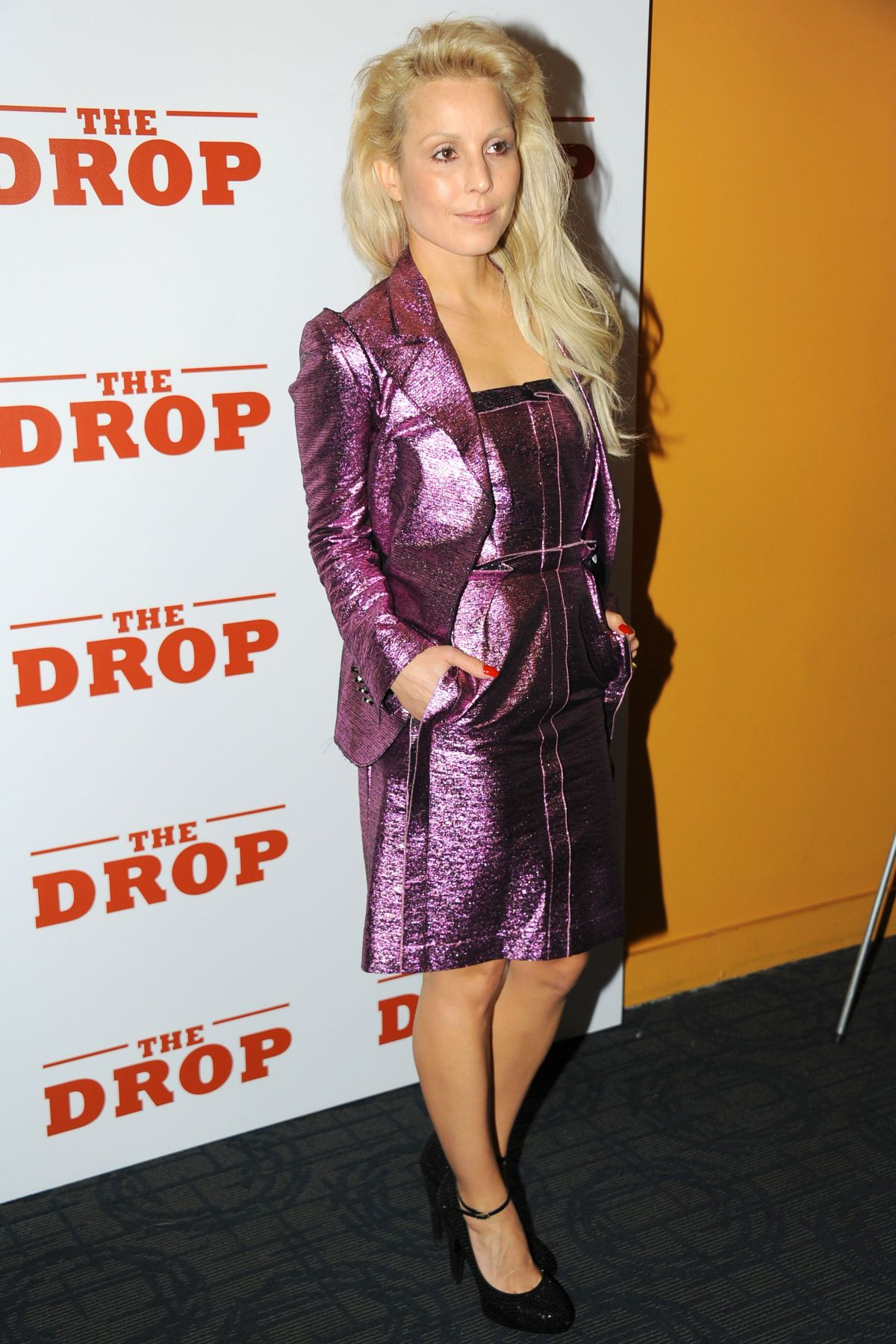 NOOMI RAPACE at The Drop Screening in New York