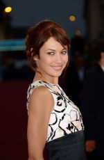OLGA KURYLENKO at The November Man Premiere at 40th Deauville American Film Festival in France