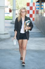 OLIVIA HOLT in Shorts Out and About in Los Angeles