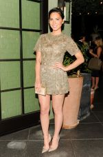 OLIVIA MUNN at Hollywood Reporter and Micaela Erlanger Celebrate Fashion Week in New York
