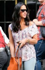 OLIVIA MUNN Leaves The Bowery Hotel in New York