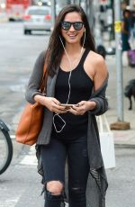 OLIVIA MUNN Out and About in New York 0909