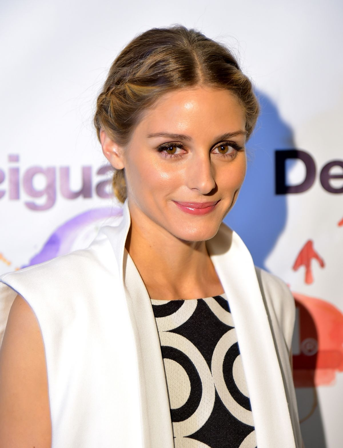 OLIVIA PALERMO at Desigual Fashion Show in New York