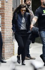 ORDE Leaves The Bowery Hotel in New York