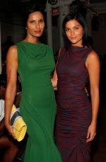 PADMA LAKSHMI at Costello Tagliapietra Fashion Show in New York