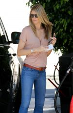 PAIGE BUTCHER at a Gas Station in Los Angeles