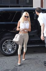 PAMELA ANDERSON Out and About in Soho