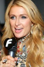 PARIS HILTON at The Blonds Fashion Show in New York