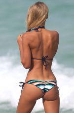 PETRA BENOVA in Bikini at a Beach in Miami