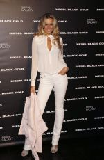 PETRA NEMCOVA at Diesel Black Gold Fashion Show in New York