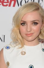 PEYTON LIST at 2014 Teen Vogue Young Hollywood Party in Beverly Hills