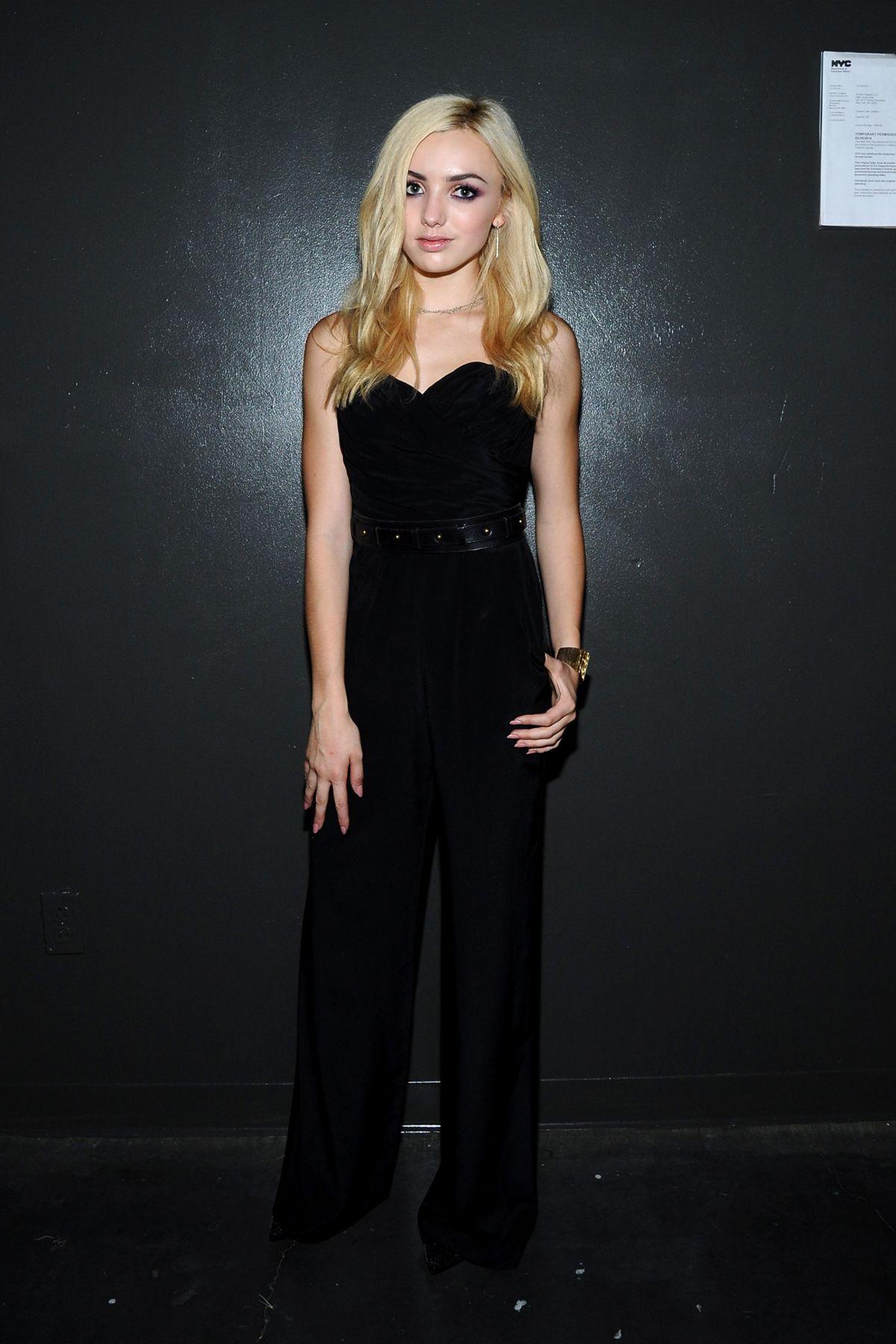 Peyton List At Jay Godfrey Fashion Show In New York Hawtcelebs