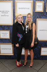 PEYTON LIST at Marchesa Voyage for Shopstyle Collection Launch in New York