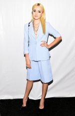 PEYTON LIST at Vivienne Tam Fashion Show in New York