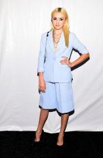 PEYTON LIST at Vivienne Tam Fashion Show in New York