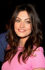 PHOEBE TONKIN at Versus Versace Fashion Show in New York