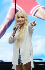PIA MIA PEREZ Performs at Shoe Palace in Hollywood