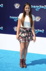 PIPER CURDA at Dolphin Tale 2 Premiere in Los Angeles