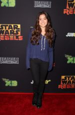 PIPER CURDA at Star Wars Rebels Premiere in Century City