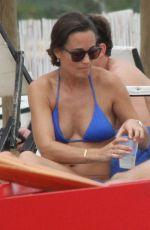 PIPPA MIDDLETON in Bikini on Vacation in Italy