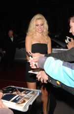 PIXIE LOTT at 2014 GQ Men of the Year Awards in London