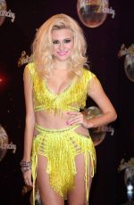 PIXIE LOTT at Strictly UK Launch at Elstree Studios