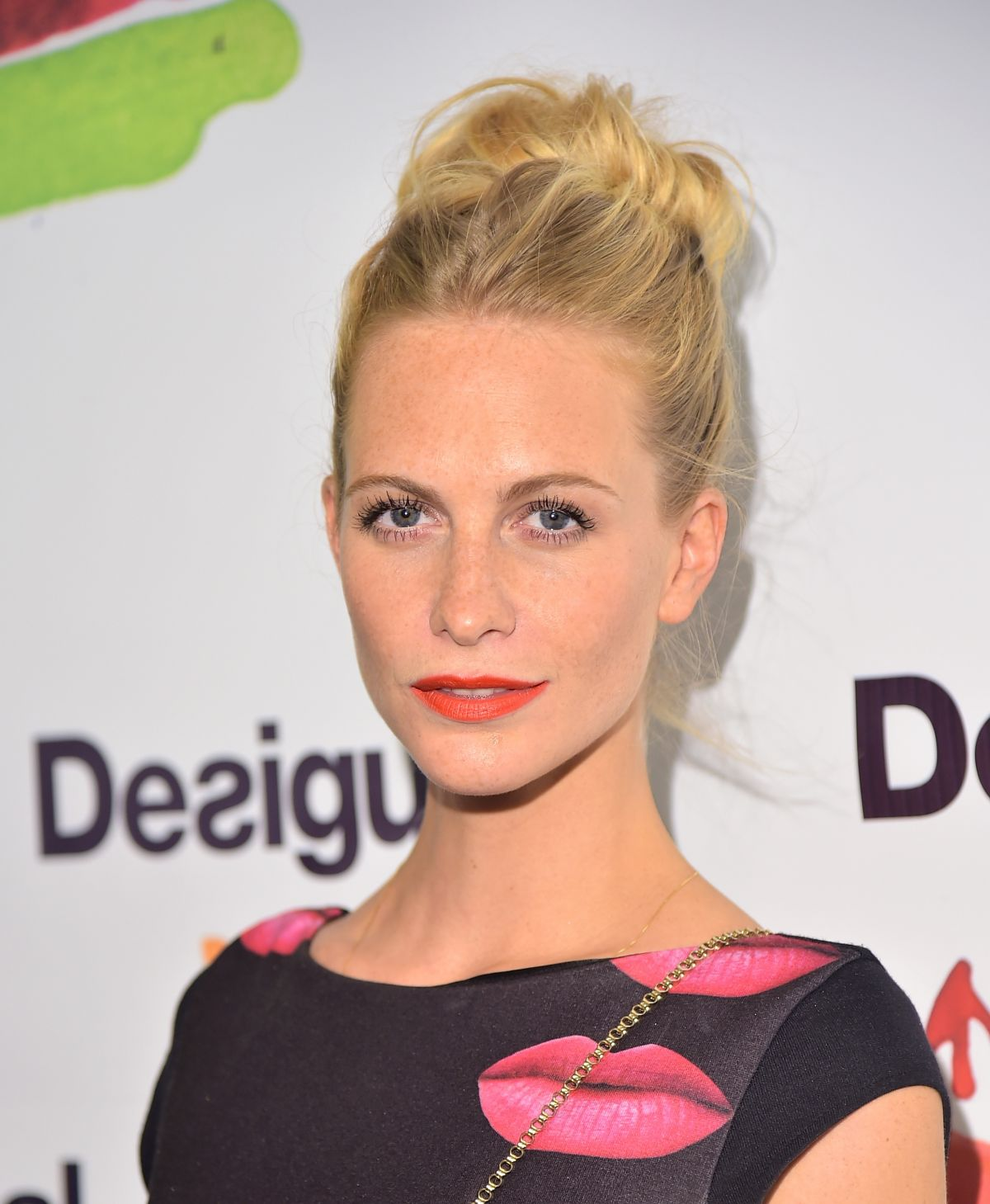 POPPY DELEVINGNE at Desigual Fashion Show in New York