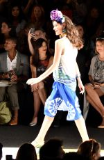 POPPY DELEVINGNE at Desigual Fashion Show in New York