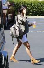 Pregnant KOURTNEY KARDASHIAN Out and About in Los Angeles