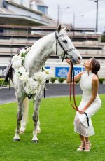 RACHAEL FINCH at 2014 Sydney Spring Carnival at Royal Randwick Racecourse