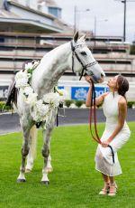 RACHAEL FINCH at 2014 Sydney Spring Carnival at Royal Randwick Racecourse