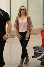 RACHEL MCADAMS Arrives at Airport in Toronto