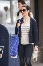 RACHEL WEISZ Out and About in New York 2409