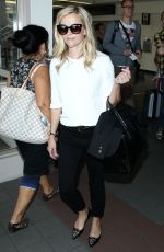 REESE WITHERSPOON Arrives at LAX Airport in Los Angeles 0609