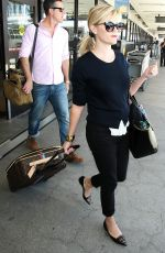 REESE WITHERSPOON Arrives at Los Angeles International Airport 0909