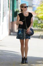 REESE WITHERSPOON in Shors Skirt Out in Brentwood