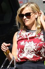 REESE WITHERSPOON in Skirt Out and About in Los Angeles 0509