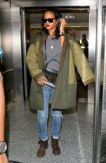 RIHANNA Arrives at Los Angeles International Airport 2809