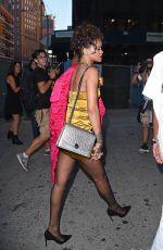RIHANNA Arrives at Nobu Restaurant in Tribeca