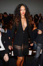 RIHANNA at Altuzarra Fashion Show in New York