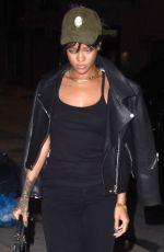 RIHANNA Heading to a Recording Studio in New York