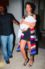 RIHANNA LEAVES a Photoshoot in New York