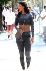 RIHANNA Out and About in New York 0709