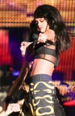 RIHANNA Performs at Rose Bowl in Pasadena
